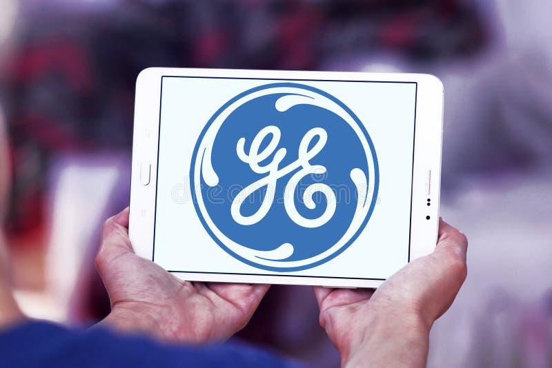 Ogólny elektryczny logo zdjęcie stock