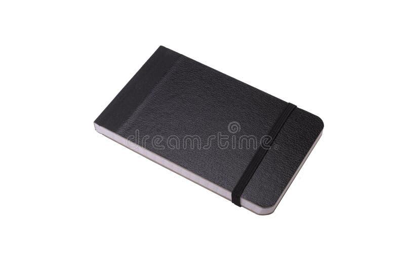 Ogólny notebook na biało zdjęcie royalty free