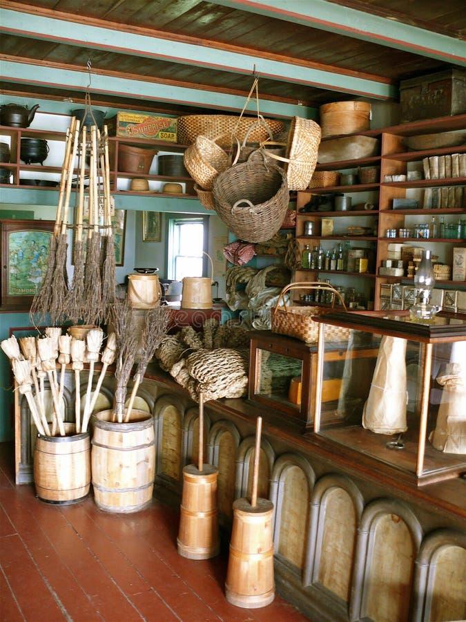 Ogólny sklep w przylądka bretończyku zdjęcie royalty free