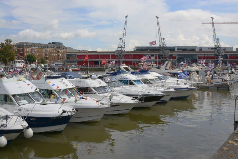 Ogólny widok Bristol schronienia festiwal fotografia royalty free