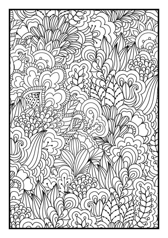 Ogange Blume Fractal lizenzfreie abbildung
