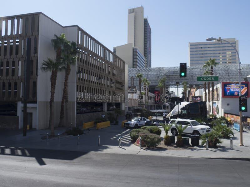 Ogden Avenue, Las Vegas, U.S.A. fotografie stock
