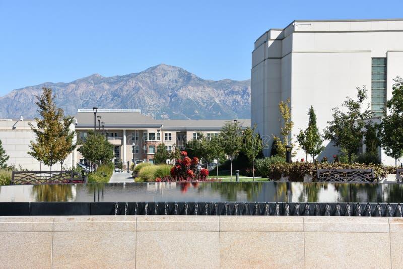 Ogden Utah Temple arkivfoton