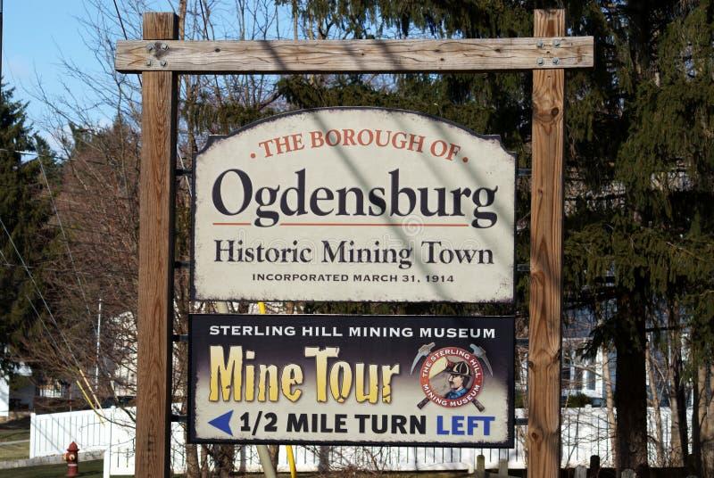 Ogdensburg, New-Jersey lizenzfreies stockbild