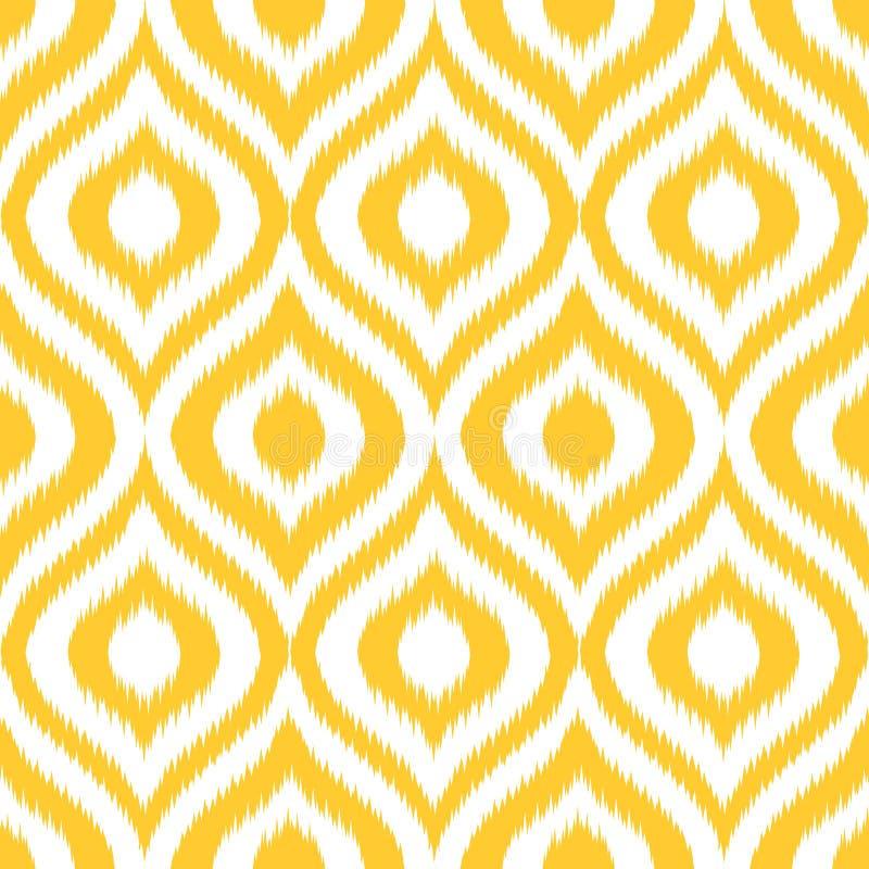Ogee amarelo ilustração stock