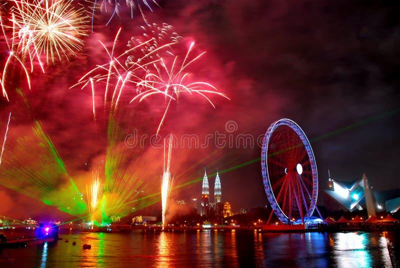 Ogen op Maleisië stock foto