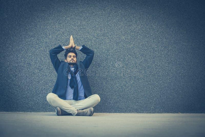 Ogenblik voor meditatie stock afbeeldingen