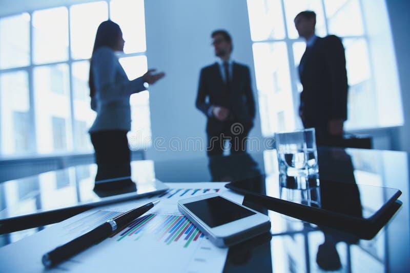 Oggetti business immagine stock