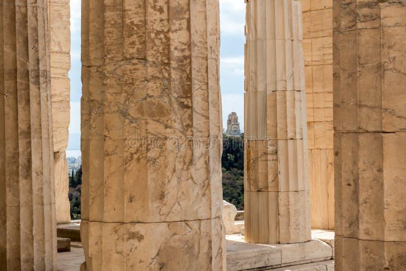 Oggetti d'antiquariato a Atene, Grecia fotografia stock
