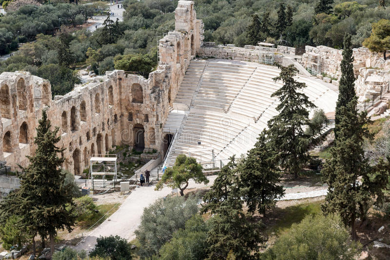 Oggetti d'antiquariato a Atene, Grecia immagini stock libere da diritti
