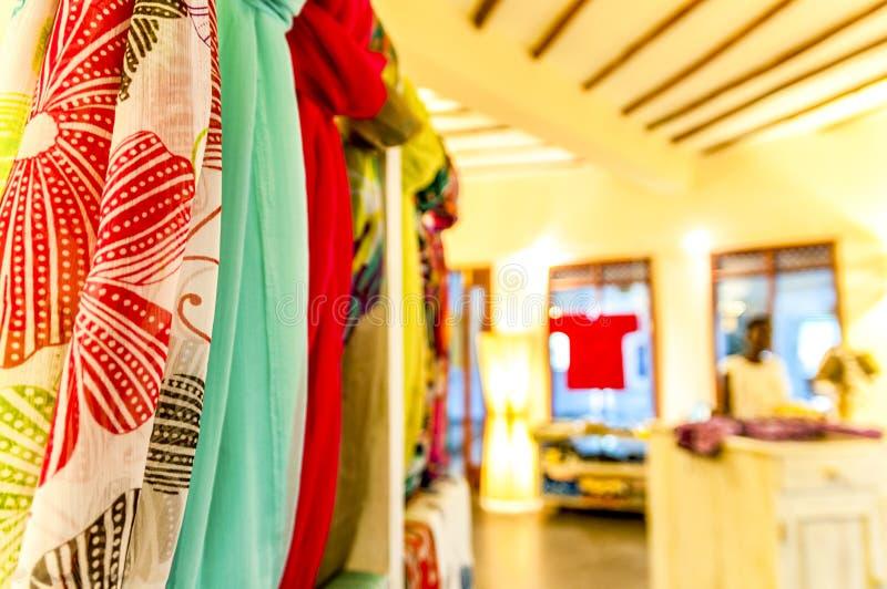 Oggetti di un boutique africano immagini stock