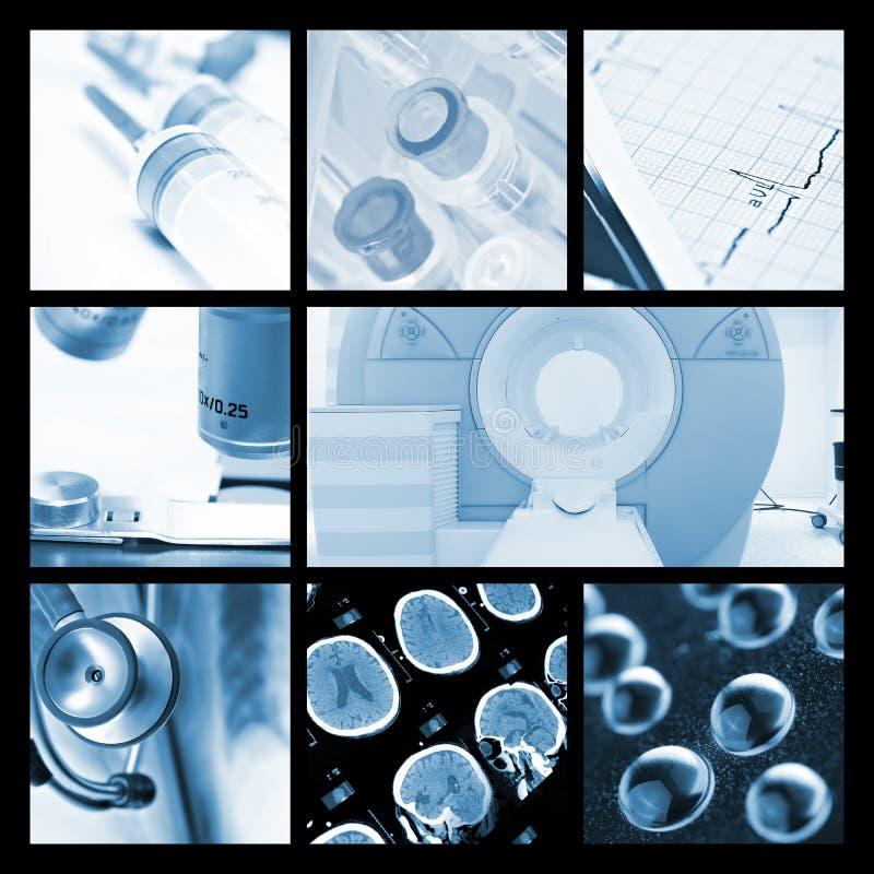 Oggetti e tecnologie medici fotografia stock libera da diritti