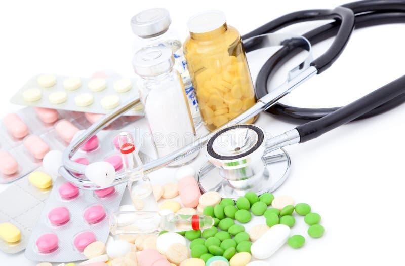 Oggetti medici fotografie stock libere da diritti