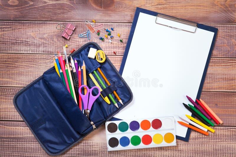 Oggetti per la creatività dei bambini fotografie stock libere da diritti