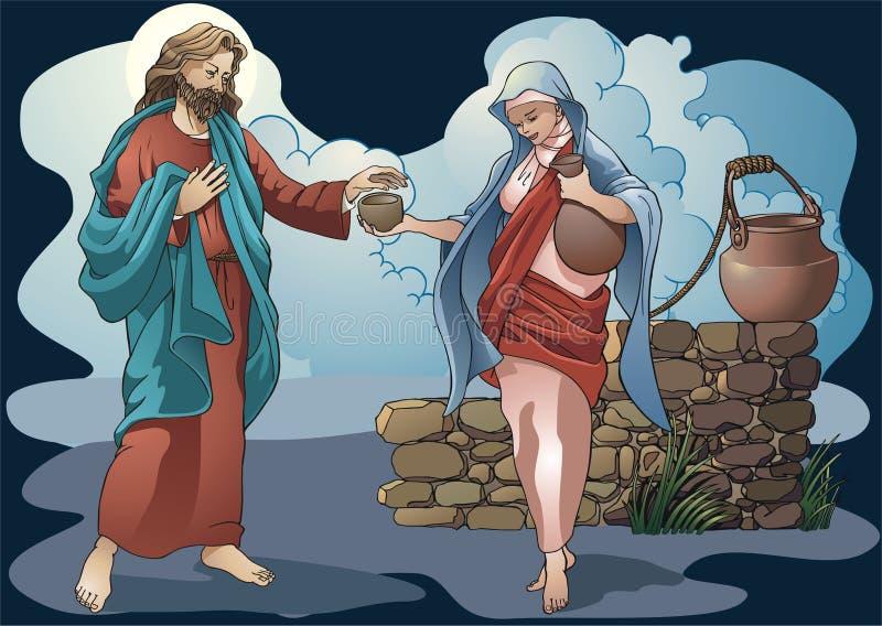 Oggetti religiosi royalty illustrazione gratis
