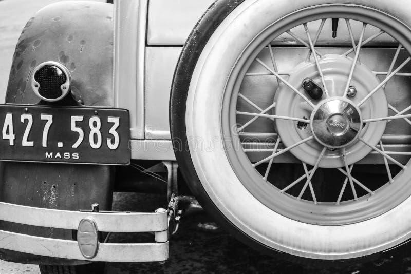 Oggetto d'antiquariato, automobile, automobilistica fotografia stock libera da diritti