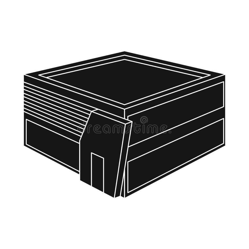 Oggetto isolato del logo della libreria e del negozio Raccolta del negozio ed icona di vettore di dipartimento per le azione royalty illustrazione gratis
