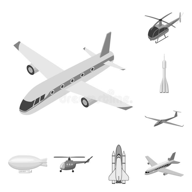 Oggetto isolato del simbolo dell'oggetto e di trasporto Metta del trasporto e del simbolo di riserva scivolante per il web illustrazione vettoriale