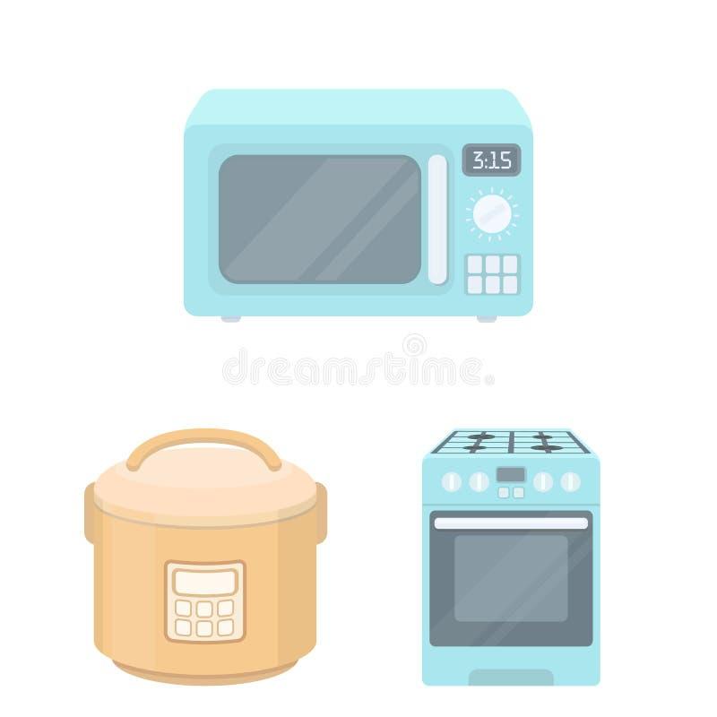 Oggetto isolato di alimento e dentro il simbolo Metta dell'icona di vettore del fornello e dell'alimento per le azione illustrazione di stock