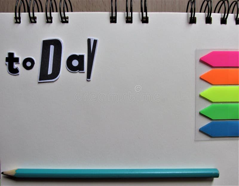 Oggi scopo celebre con la penna fotografia stock libera da diritti