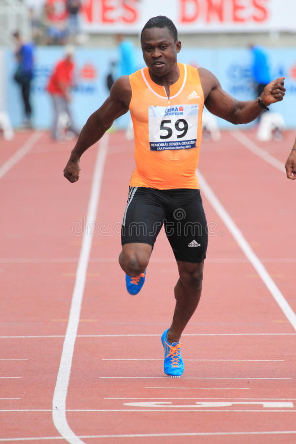 Download Ogho-Oghene Egwero - Atleta Fotografia Stock Editoriale - Immagine di corridore, concorrenza: 55362673