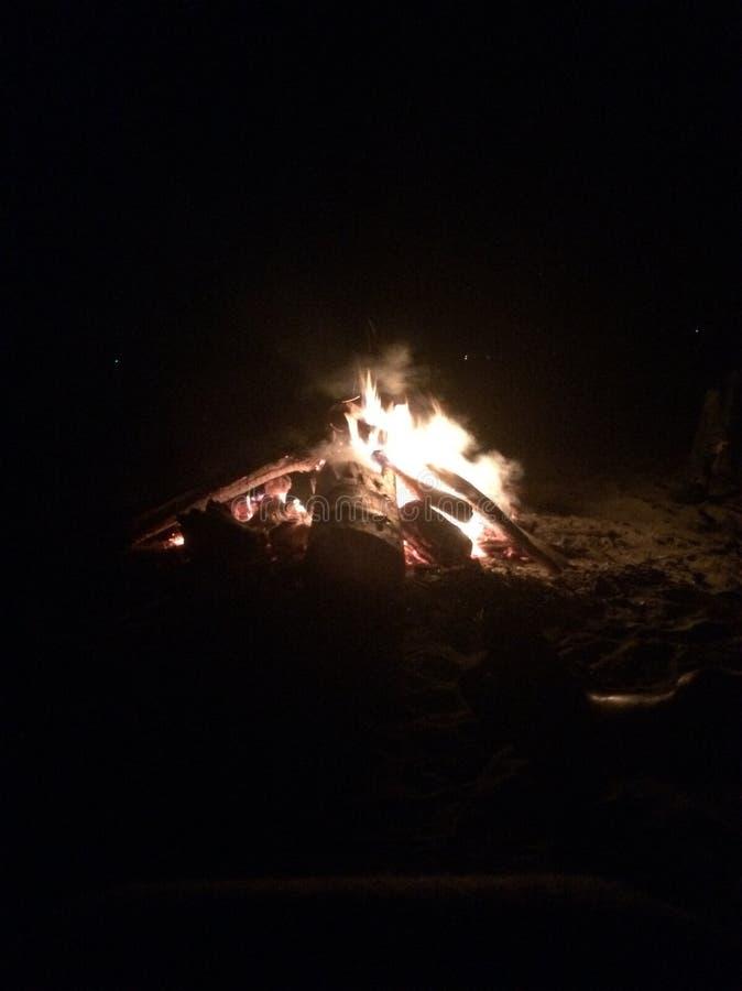 1 ogień zdjęcia stock