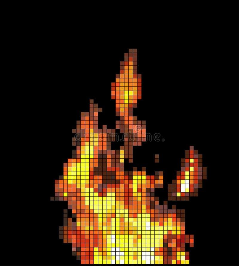 Ogień. ilustracja wektor