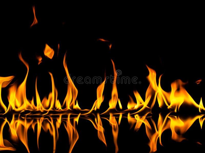 ogień ilustracji