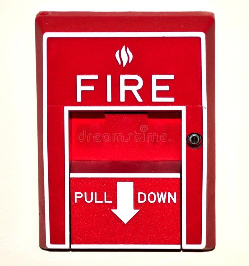 ogień alarmu zdjęcia royalty free