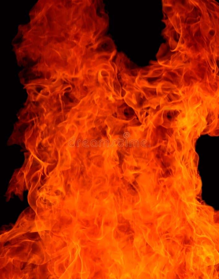 ogień jest szatana obrazy stock