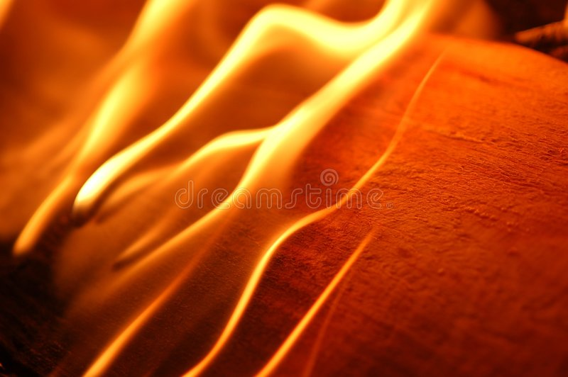 ogień płonący iv obraz royalty free
