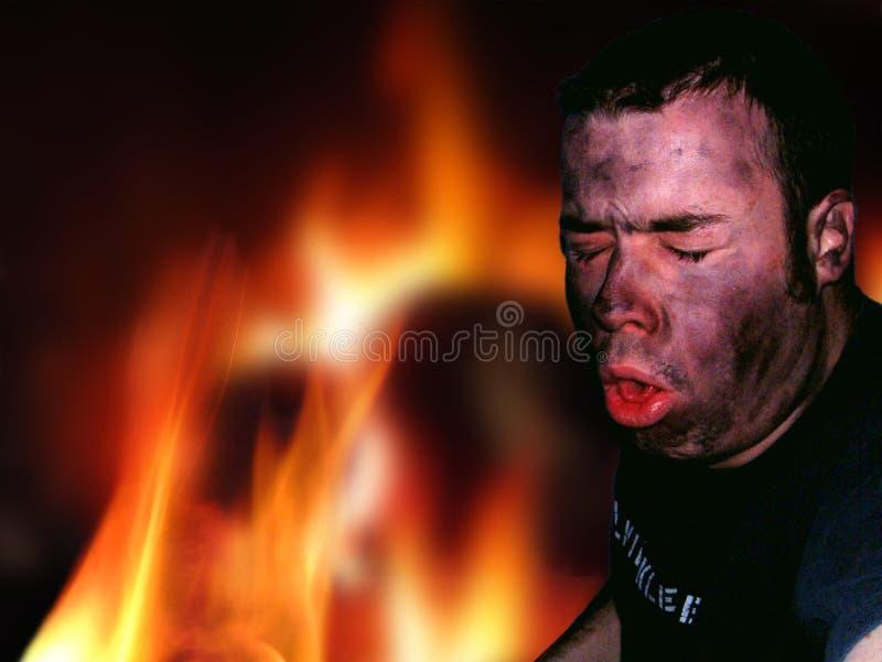 ogień ucieczki obraz royalty free
