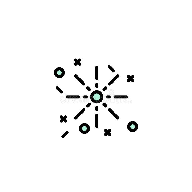 Ogień, wakacje, Wielkanocny Biznesowy logo szablon p?aski kolor ilustracji