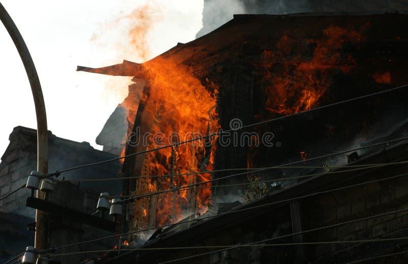 Download Ogień zdjęcie stock. Obraz złożonej z nieuszeregowany - 13338334
