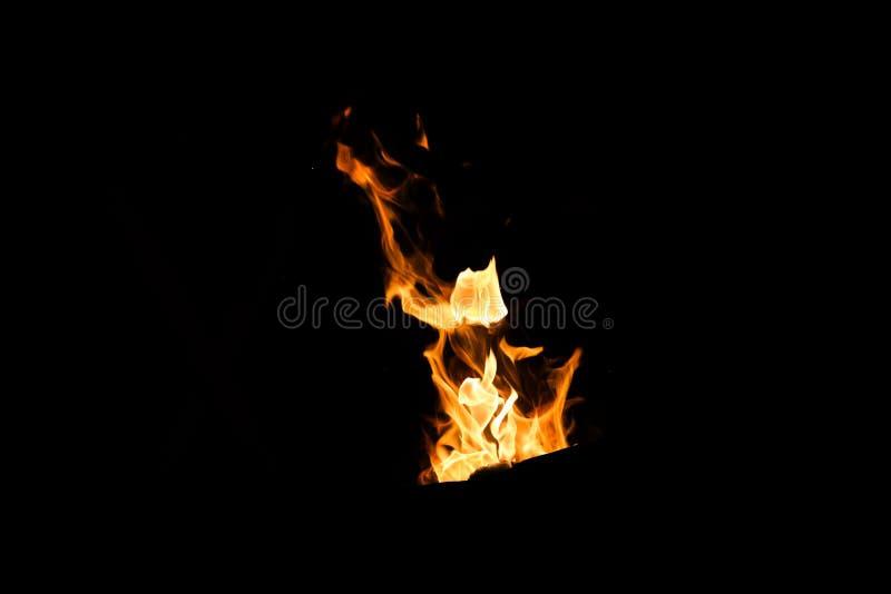 Ogieni kształty, pali ogienia fotografia stock