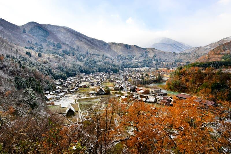 Ogimachi Village, Shirakawa-go, Japan stock images
