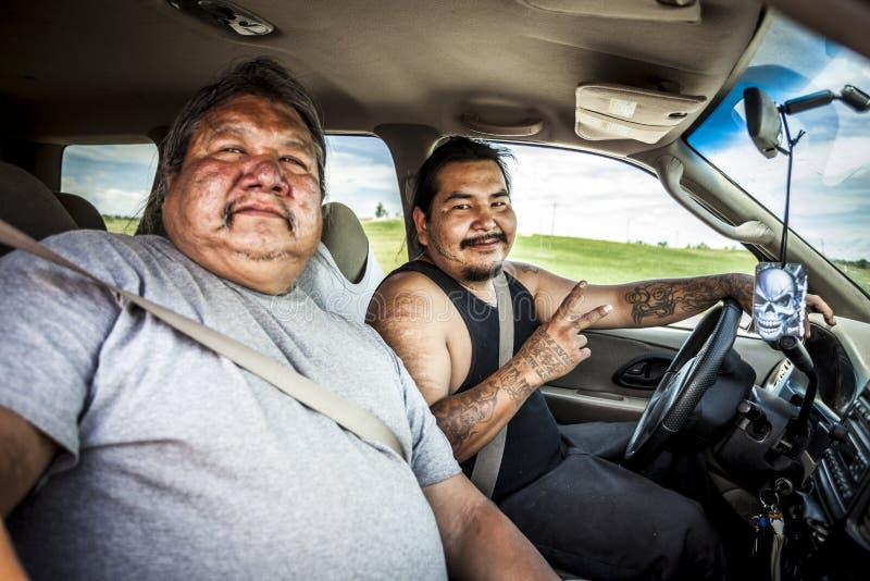 Oglala inheemse Amerikanen royalty-vrije stock afbeelding