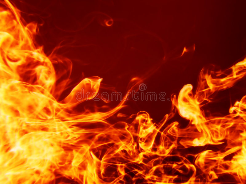 ognisty tła gorące royalty ilustracja