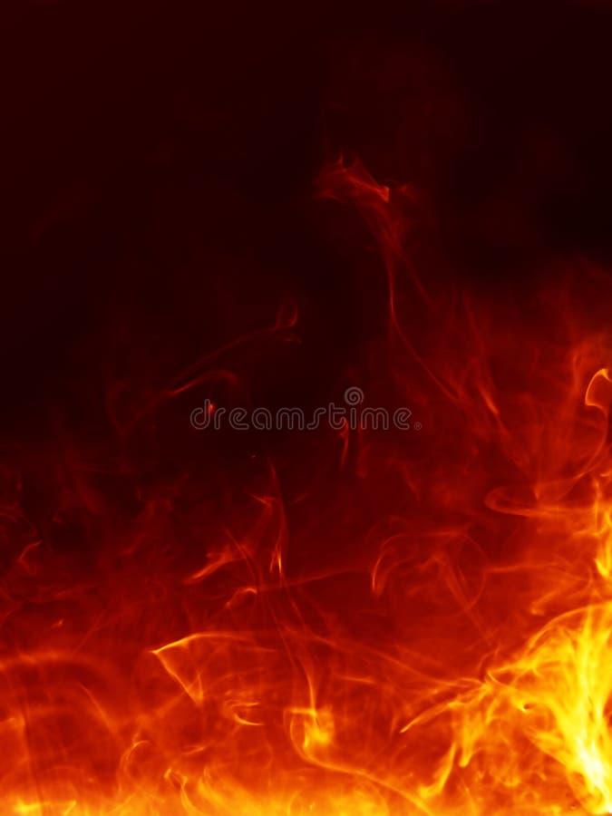 ognisty tła gorące ilustracji