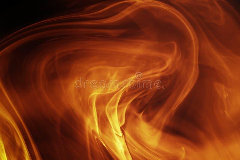 ognisty tła magia royalty ilustracja