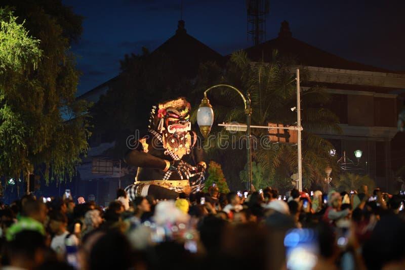 Ogoh-ogoh Bali immagini stock libere da diritti
