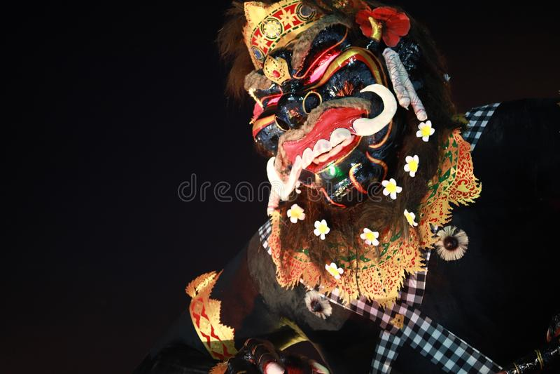 Ogoh-ogoh bali festival royalty free stock photos