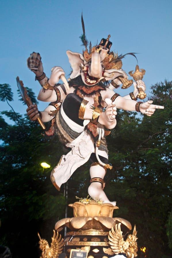 ogohogoh statyer bali indonesien redaktionell foto