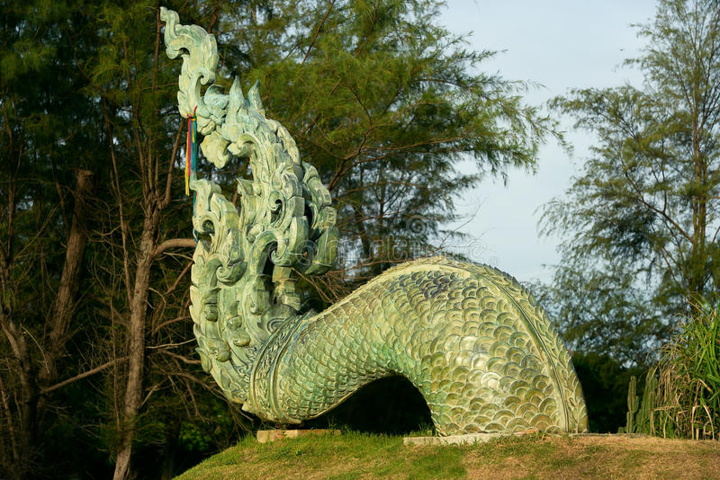 Ogonu Naga fotografia royalty free