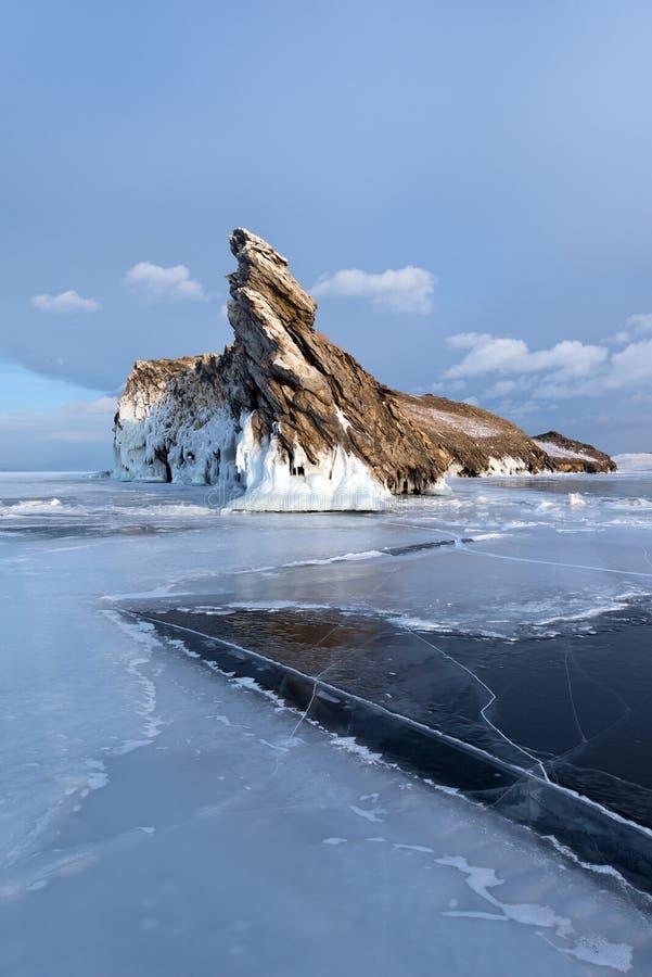 Ogoy ö, Baikal sjö fotografering för bildbyråer
