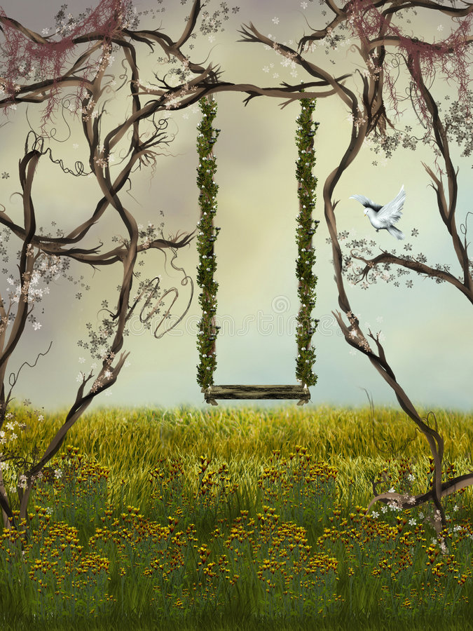 ogród ilustracja wektor
