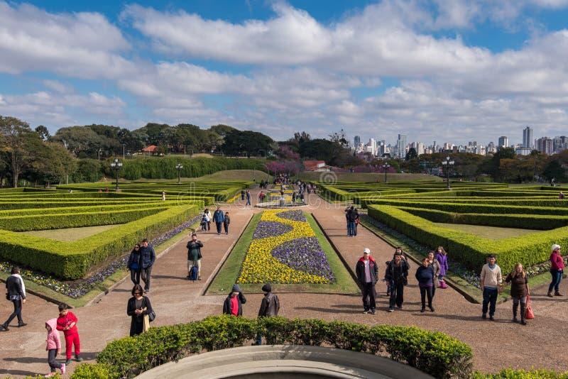 Ogród Botaniczny Curitiba zdjęcia royalty free