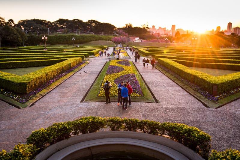 Ogród Botaniczny Curitiba fotografia stock