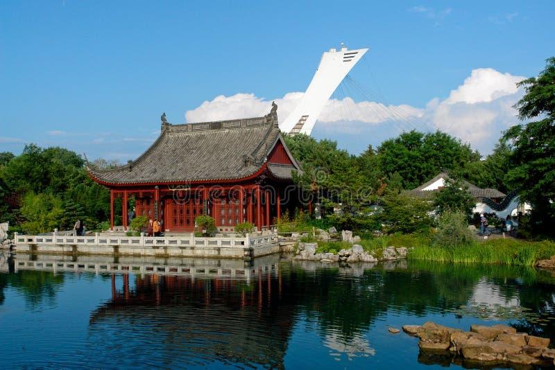ogród botaniczny Montrealu obrazy royalty free