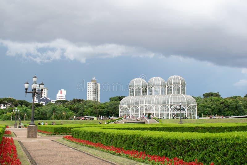 Ogród botaniczny w Curitiba zdjęcie stock